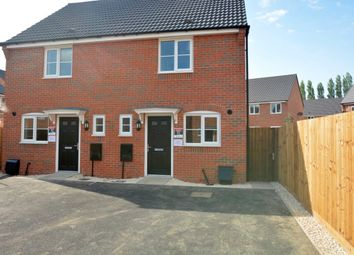 Thumbnail 2 bed semi-detached house to rent in Indigo Drive, Burbage, Leicestershire
