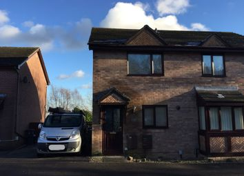 Thumbnail 2 bed semi-detached house to rent in Hawkes Ridge, Ty Canol, Cwmbran, Cwmbran