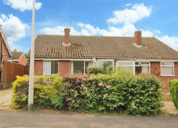 Thumbnail 2 bed semi-detached bungalow for sale in Thackeray Close, Hillside, Rugby