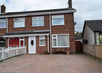 Thumbnail 3 bedroom semi-detached house for sale in Oakfield Road, Blacon, Chester