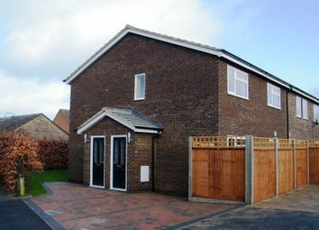 Thumbnail 2 bed terraced house to rent in Virginia Way, St. Ives, Huntingdon