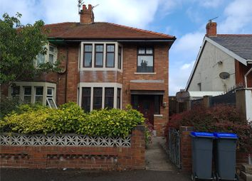 3 bed semi-detached house to rent in Belgrave Road, Blackpool, Lancashire FY4