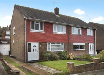 Thumbnail 3 bed semi-detached house for sale in Lockwood Crescent, Brighton