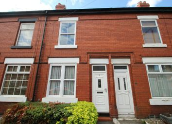 Thumbnail 2 bed terraced house for sale in Eaton Road, Sale
