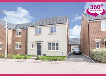 Thumbnail 4 bed detached house for sale in Ebbw Close, Rogerstone, Newport
