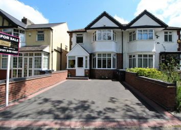 Thumbnail 3 bedroom semi-detached house for sale in Shirley Road, Hall Green B28.