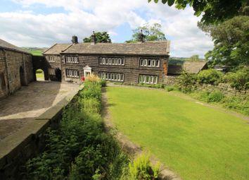 Thumbnail 5 bed link-detached house for sale in Lee Bottom Road, Todmorden
