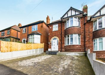 Thumbnail 3 bed semi-detached house for sale in Milman Road, Lincoln