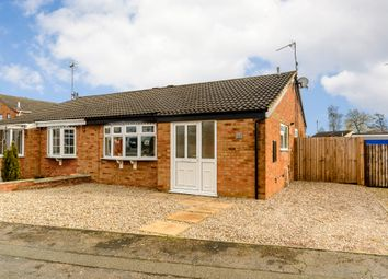 Thumbnail 2 bedroom bungalow for sale in Hobby Close, Broughton Astley, Leicester