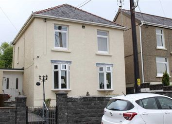 Thumbnail 3 bed detached house for sale in New Road, Cwmllynfell, Swansea