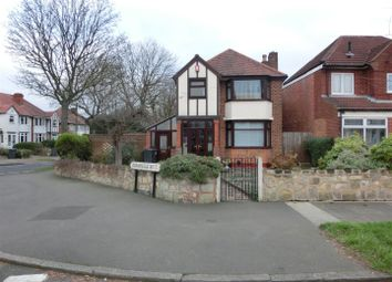 Thumbnail 3 bed detached house for sale in Herondale Road, Sheldon, Birmingham