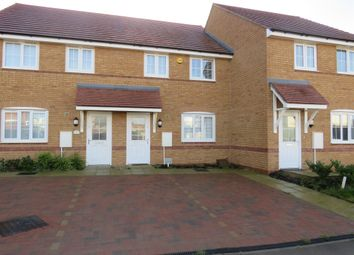 Thumbnail 3 bed terraced house for sale in Michaels Drive, Priors Hall Park, Corby