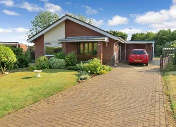 Thumbnail 3 bed detached bungalow for sale in Priory Close, Ruskington, Sleaford