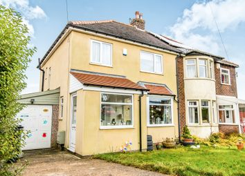 Thumbnail 3 bed semi-detached house for sale in Woodlesford Crescent, Mount Tabor, Halifax