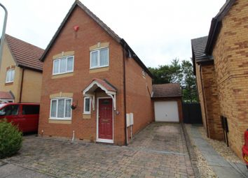 Thumbnail 3 bed detached house for sale in Pennycress Way, Newport Pagnell, Buckinghamshire