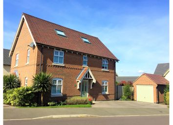 Thumbnail 5 bed detached house for sale in Reading Avenue, Church Gresley, Swadlincote