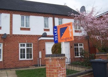 Thumbnail 2 bed town house to rent in The Square, Earl Shilton, Leicester