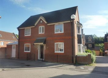 Thumbnail 3 bed detached house to rent in Foxley Place, Loughton, Milton Keynes