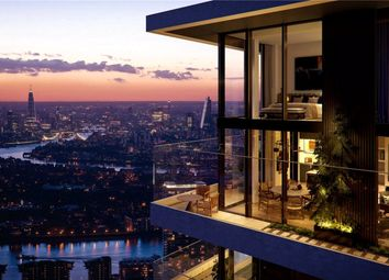 Thumbnail 2 bedroom flat for sale in Wardian, East Tower, Canary Wharf