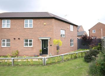 Thumbnail 3 bed semi-detached house for sale in Merlin Road, Mansfield Woodhouse, Mansfield, Nottinghamshire