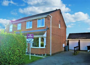 3 bed semi-detached house for sale in Foxley Court, Bourne, Lincolnshire PE10