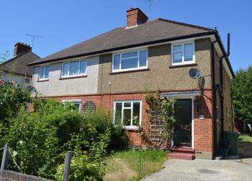 Thumbnail 3 bed semi-detached house to rent in The Crescent, Epsom, Surrey.