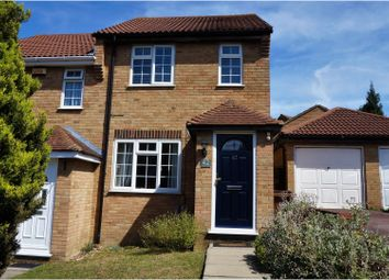 Thumbnail 2 bed end terrace house for sale in Charlotte Close, Chatham