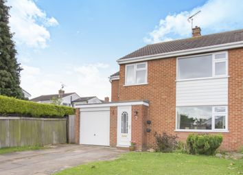 Thumbnail 4 bed semi-detached house for sale in The Chestnuts, Countesthorpe, Leicester
