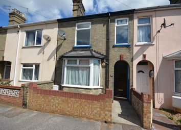 Thumbnail 3 bed terraced house to rent in Salisbury Road, Lowestoft, Suffolk