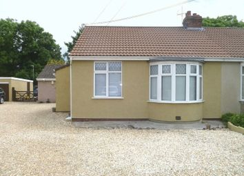 Thumbnail 2 bedroom semi-detached bungalow to rent in Paddock Park Homes, New Bristol Road, Weston-Super-Mare