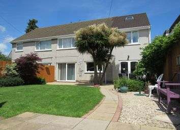 Thumbnail 4 bedroom semi-detached house for sale in Penmaen Walk, Michaelston-Super-Ely, Cardiff