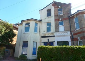 Thumbnail 1 bedroom flat to rent in Carlton Road, Bournemouth