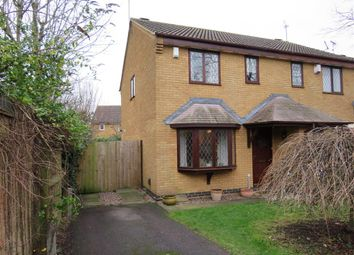 Thumbnail 3 bed semi-detached house for sale in Raglan Close, Rushden