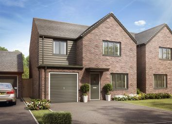 "Thumbnail 4 bedroom detached house for sale in ""The Roseberry"" at Llantrisant Road, Capel Llanilltern, Cardiff"