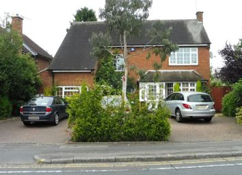 Thumbnail 4 bed detached house for sale in Evington Lane, Leicester