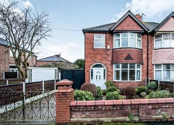 Thumbnail 3 bedroom semi-detached house for sale in Colwell Avenue, Stretford, Manchester