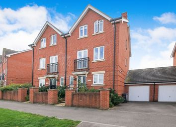 Thumbnail 4 bed town house for sale in Sherbourne Drive, Old Sarum, Salisbury