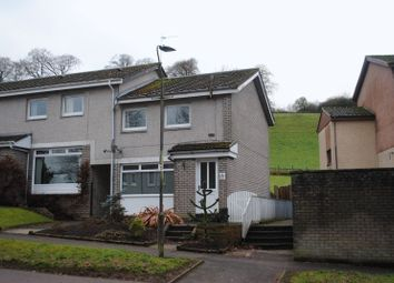 Thumbnail 2 bed end terrace house to rent in Kirkfield Road, Kirkfieldbank, Lanark