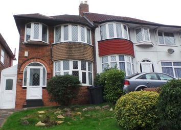 Thumbnail 3 bed semi-detached house for sale in College Road, Sutton Coldfield, West Midlands
