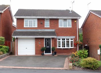 Thumbnail 4 bed detached house for sale in Brenwood Close, Kingswinford