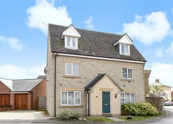 Thumbnail 4 bed detached house for sale in Tortworth Road, Swindon, Wiltshire