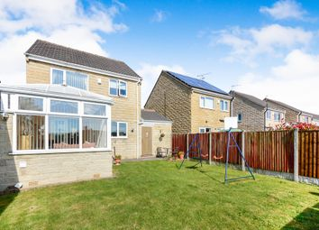 Thumbnail 3 bed detached house for sale in Peak Close, Pilsley, Chesterfield