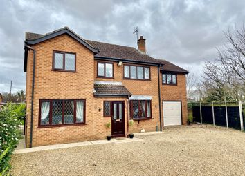 Thumbnail 5 bed detached house for sale in Mawford Close, Moulton Seas End, Spalding
