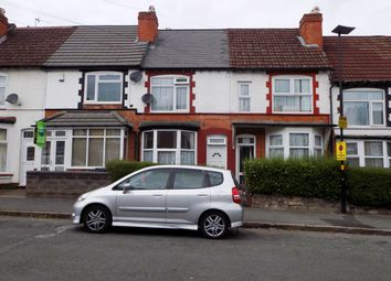 Thumbnail 3 bed terraced house for sale in Geoffrey Road, Sparkhill, Birmingham