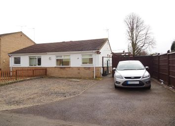 Thumbnail 2 bed semi-detached bungalow for sale in Wicklow Close, Shepshed, Leicestershire