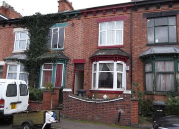 Thumbnail 1 bed terraced house to rent in Belgrave Avenue, Leicester