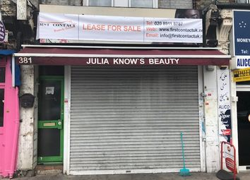 Thumbnail Retail premises to let in Lease For Sale, Opp. Upton Park Station, New Fri Lease