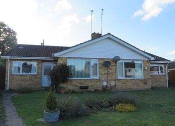 Thumbnail 2 bed semi-detached bungalow for sale in Highfield Road, Halesworth