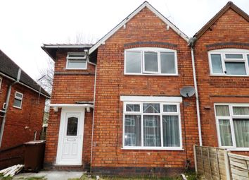 Thumbnail 3 bed semi-detached house to rent in Flaxhall Street, Walsall