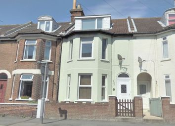 Thumbnail 4 bedroom terraced house for sale in Canterbury Road, Folkestone
